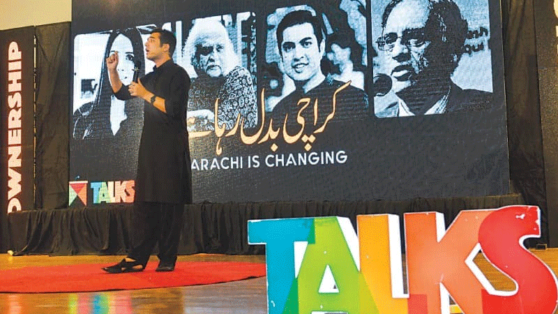 The session was hosted by comedian Shehzad Ghias Shaikh who kept the audience laughing.