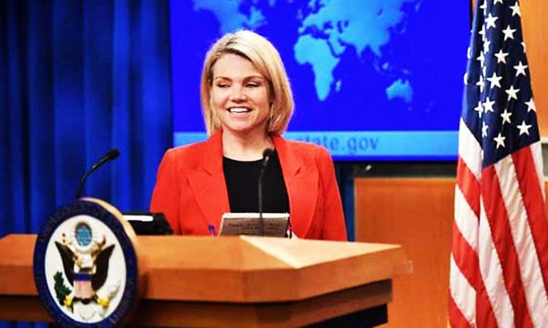 US State Department's spokesperson Heather Nauert.— AFP/File