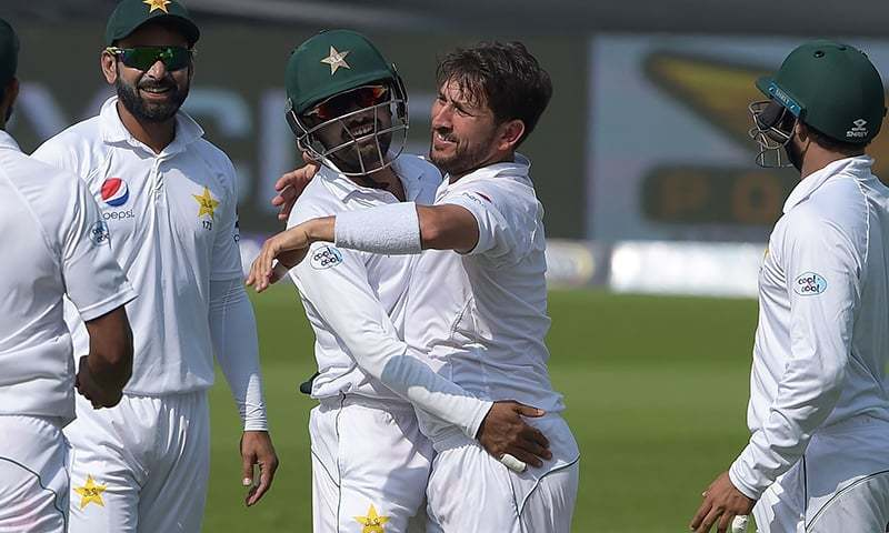 Yasir Shah stuns cricket world with 'ball of the century' replica