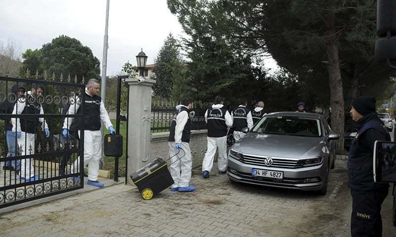 Turkish police search Yalova villa in Khashoggi probe