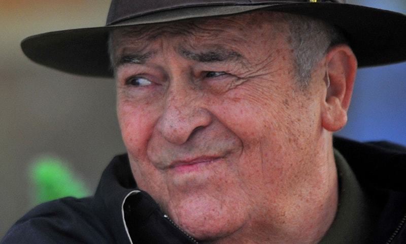 In this file photo taken on October 18, 2012 Italian film director Bernardo Bertolucci poses during the photocall for 'Io e Te' (Me and You) in Rome. — AFP