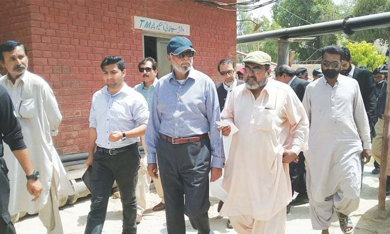 Retired justice Amir Hani Muslim. — Dawn/File