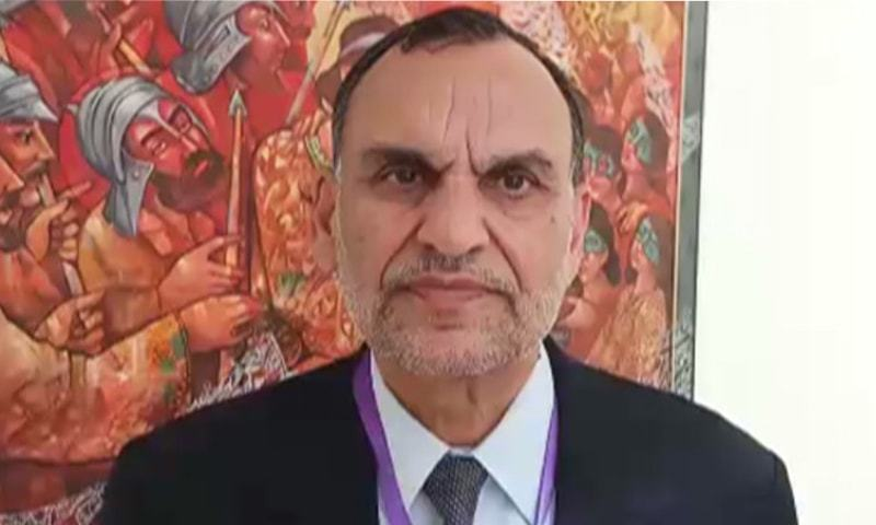 Azam Swati, a member of the ruling PTI, was accused of playing a role in the transfer of former Islamabad Inspector General of Police Jan Mohammad. ─ File photo