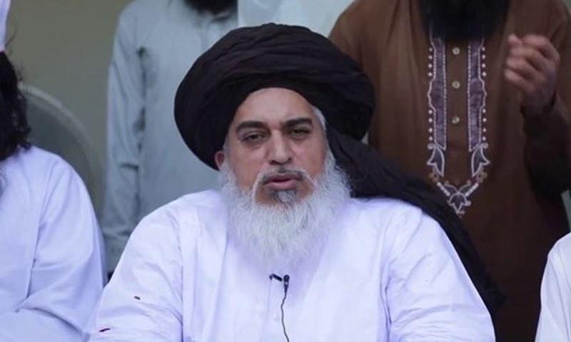 TLP chief Khadim Hussain Rizvi was taken into protective custody last week in Lahore. — File photo
