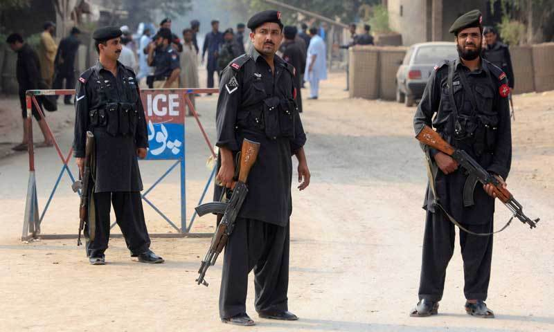Three security personnel were injured in the encounter. — File
