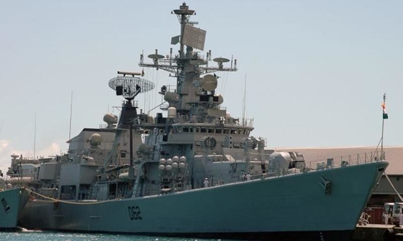 The Sahand has a flight deck for helicopters, torpedo launchers, anti-aircraft and anti-ship guns. — AFP/File