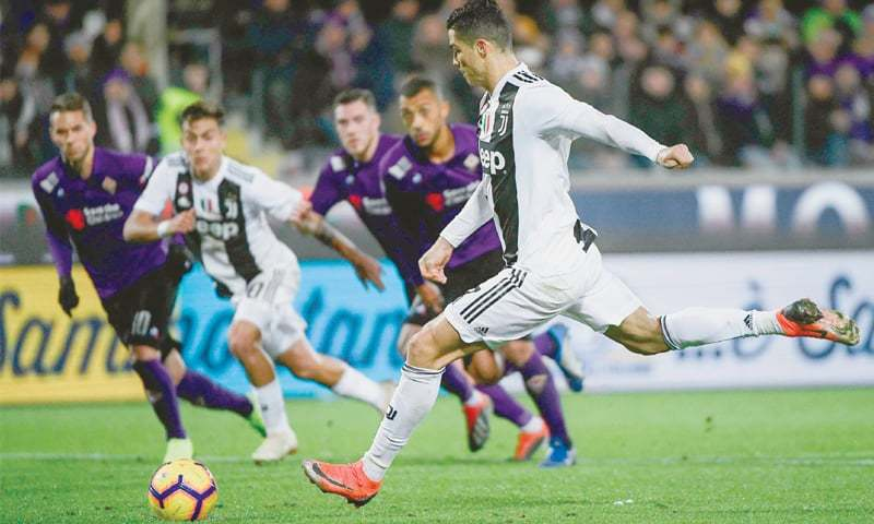 Ronaldo achieves Juve scoring feat last managed by John Charles