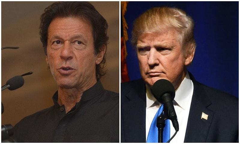prime minister imran khan has said that us president donald trump sent him a letter earlier