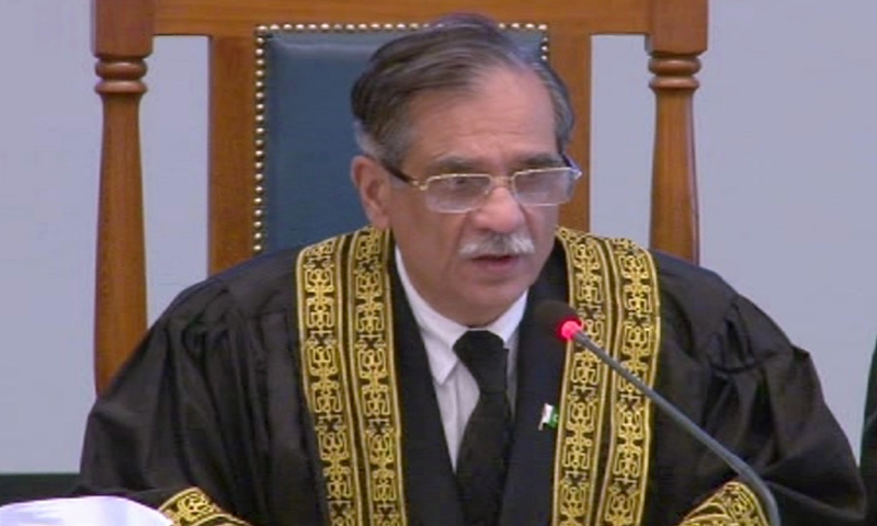 Headed by the chief justice, a bench of the apex court was hearing a case regarding the waste management of hospitals in KP. — File