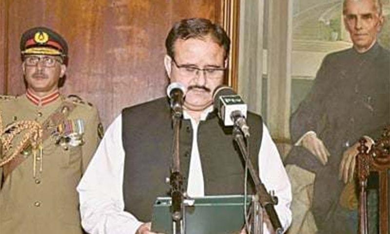 Punjab Chief Minister Usman Buzdar. ─ APP/File