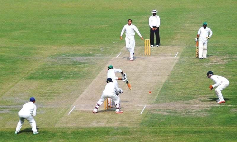 A file photo of a Quaid-e-Azam Trophy match.