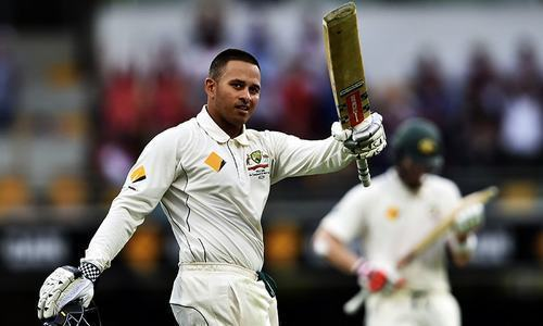 Usman Khawaja's brother is in trouble with the law. — File