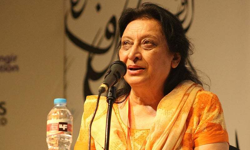 Fahmida Riaz was part of a powerful student movement resisting Ayub Khan's ban on student unions, and published her first book of poetry in 1967 at the age of 22.—File
