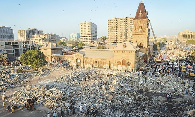 Livelihoods in ruin.