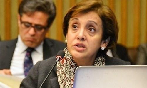 Foreign Secretary Tehmina Janjua led the Pakistani delegation. — File photo