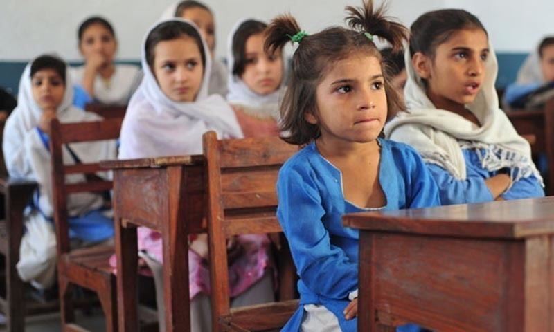 "1,850 primary schools out of 38,132 schools in Sindh are to be declared ""not viable"" after the proposed viability assessment of low or no enrolment schools. ─ AFP/File"