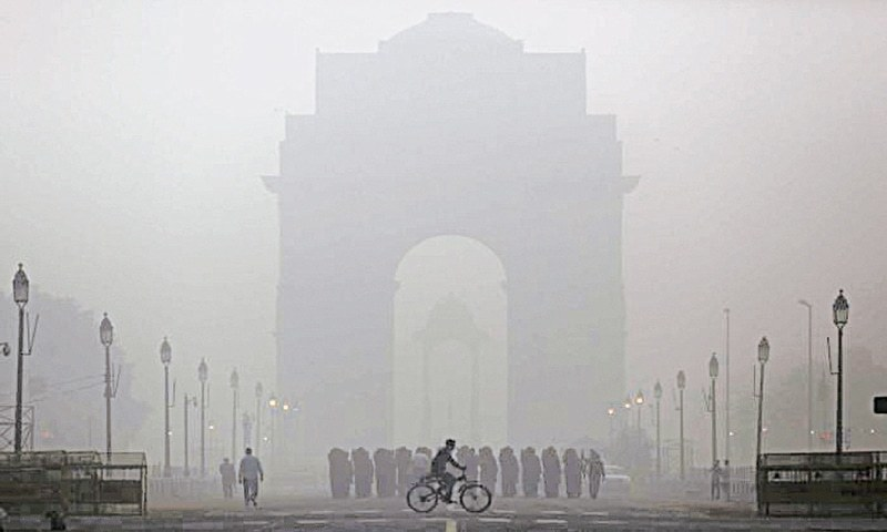 An estimated 1.1 million Indians die prematurely from air pollution every year. — File