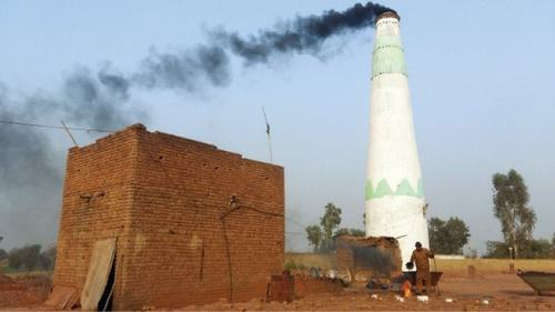 Thousands of people have become jobless after the closure of brick kilns in Muzaffargarh because of smog and now due to a delay in start of the crushing season. ─ File photo