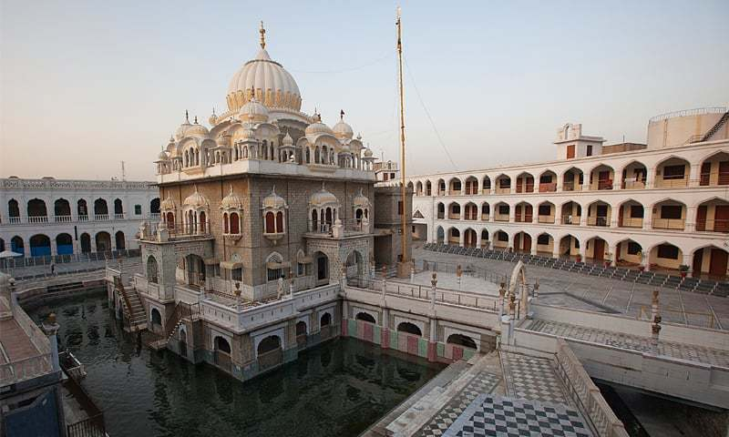 Machinery reaches Kartarpur for construction of corridor from Gurdwara Darbar Sahib to Dera Baba Nanak in India's Gurdaspur. ─ File photo
