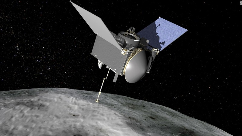 Nasas first asteroid sample collector arrives at target
