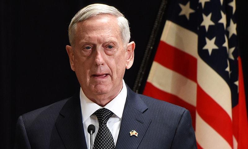 امریکی سیکریٹری دفاع نے بھارتی وزیر دفاع کے ساتھ مشترکہ نیوز کنفرنس کی—فائل فوٹو