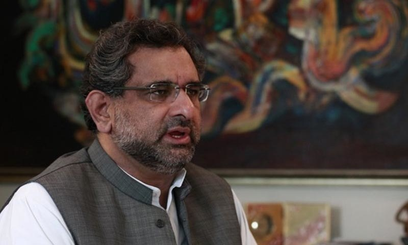 Former premier Shahid Khaqan Abbasi says opposition does not have to do anything to harm the PTI government. — File photo
