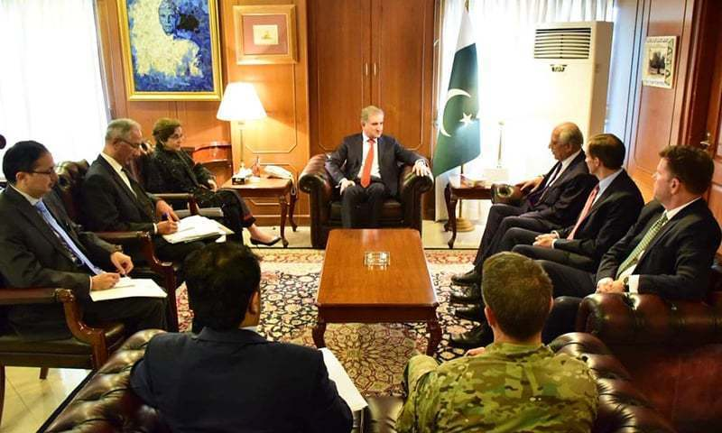 USA seeks Pakistan's help to establish peace in Afghanistan: PM