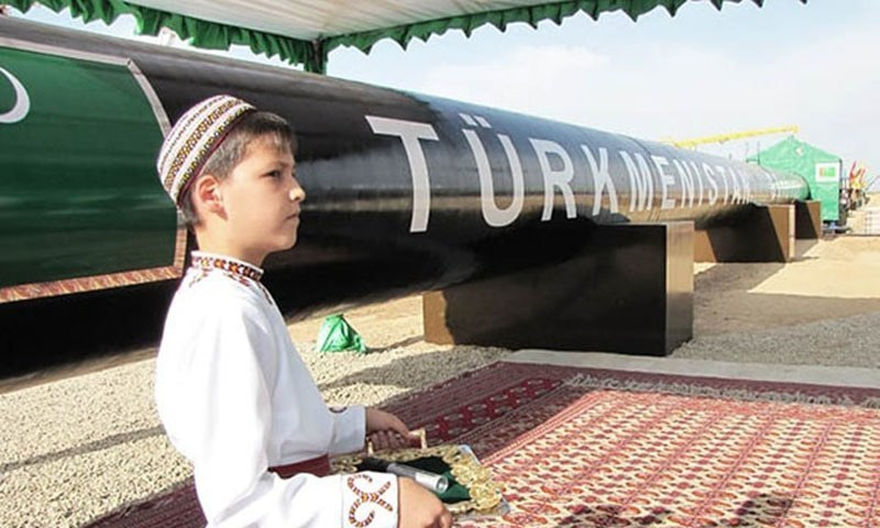Construction of Turkmenistan-Afghanistan-Pakistan-India pipeline to start in first quarter of next year. — File photo