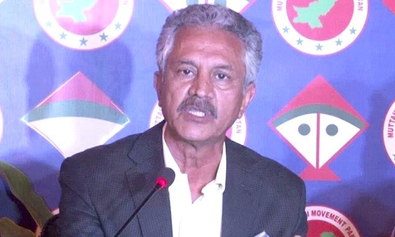 Mayor Waseem Akhtar defended the removal of encroachments from markets and roads but opposed the idea of erasing illegal properties. — DawnNewsTV
