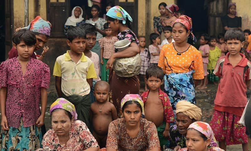 متاثرہ خواتین کی اکثریت میانمار کی شمالی ریاست شان اور کوچن سے ہے—فوٹو:اے ایف پی
