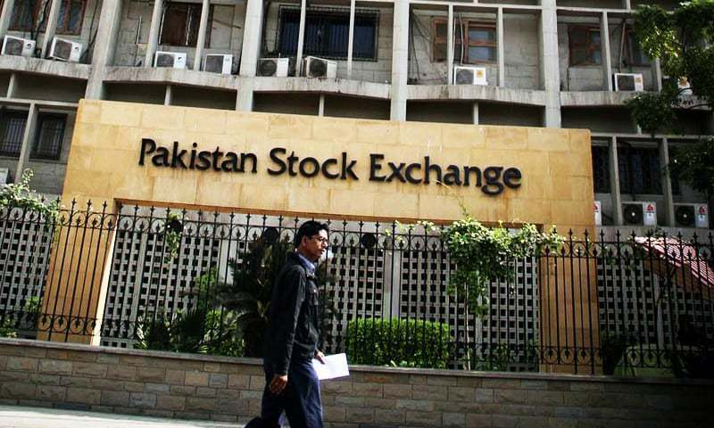 KSE-100 index recovers 261.42 points and closed at 38,563.05. — File