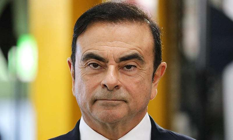 In this file photograph taken on November 8, 2018, Chairman and CEO of Renault-Nissan-Mitsubishi Carlos Ghosn looks on during a visit of the French President to a Renault factory at Maubeuge, northern France. — AFP