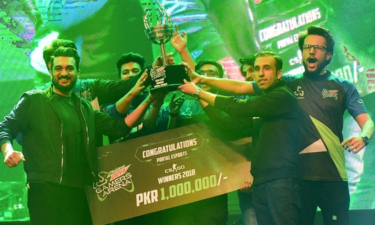 Portal Esports won the final trophy and prize money worth Rs 1 million for both DOTA 2 and CS:GO.