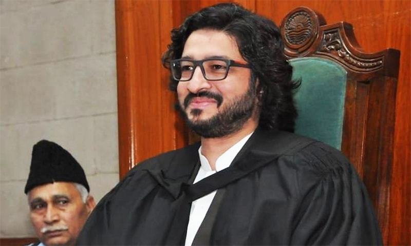Punjab Assembly Deputy Speaker Dost Muhammad Mazari created history on Tuesday. ─ Photo courtesy Facebook