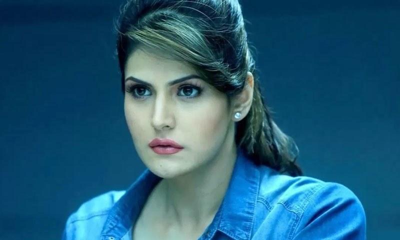 بولی وڈ اداکارہ زرین خان —فوٹو/ اسکرین شاٹ