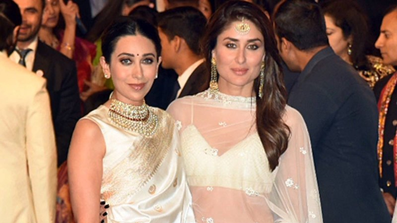 The Kapoor-Khan clan dressed in all white and we loved these triplets.