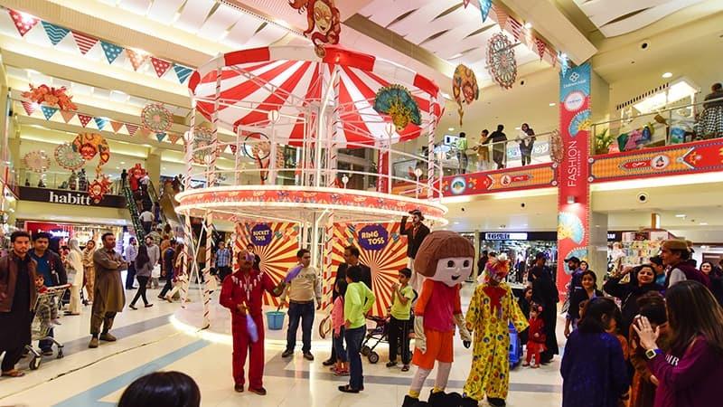 Celebrations for 26 years of Dolmen Shopping Festival begin from 21st December.