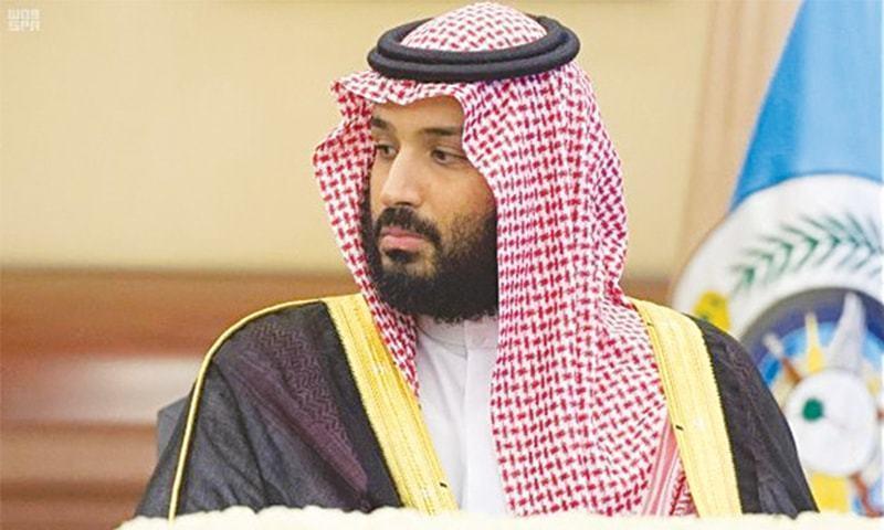 سعودی ولی عہد محمد بن سلمان — فائل فوٹو