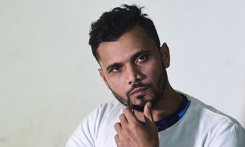 Bangladeshi cricketer Mashrafe Mortaza is contesting a seat in the national parliament for the ruling Awami League party in the December 30 elections. — AFP