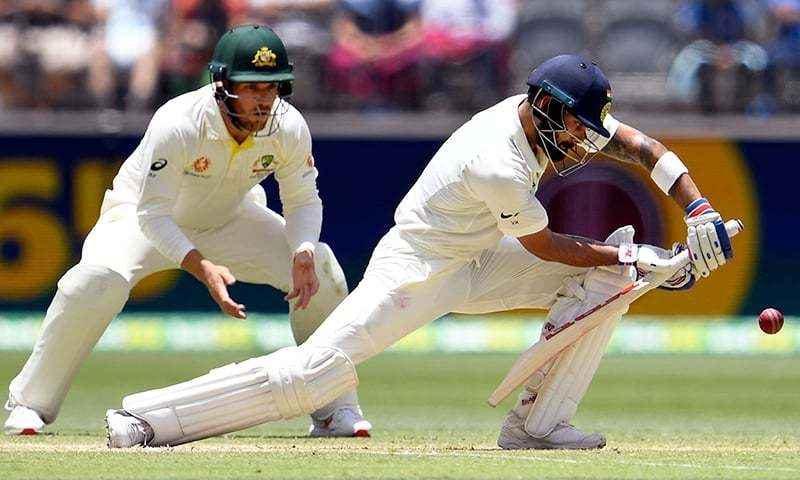 Perth Test: Virat Kohli pumps up Indian crowd, responds to Aussie jeers
