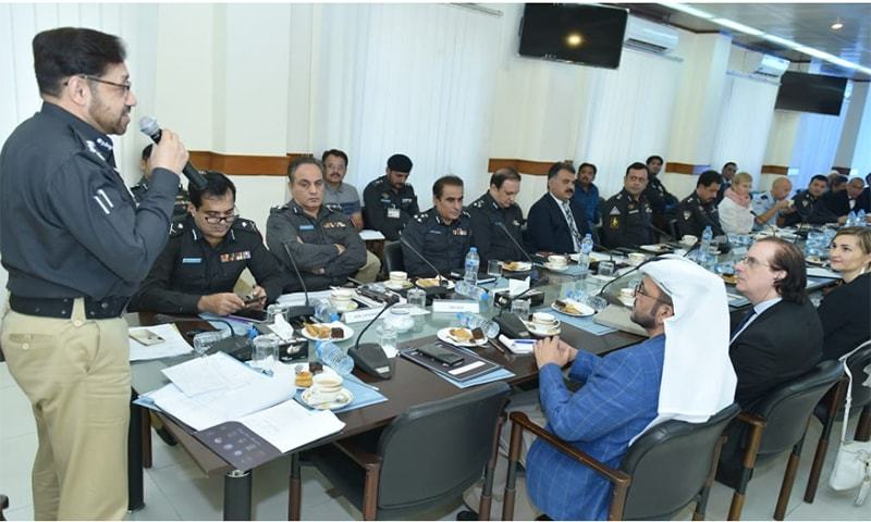IG Kaleem Imam directs Karachi police chief to hold regular meetings with consul generals and ensure the provision of security. —Photo provided by author