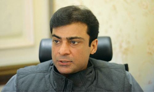 Hamza Shahbaz reportedly hurled a water bottle at Wasim Qadir following a disagreement. — File