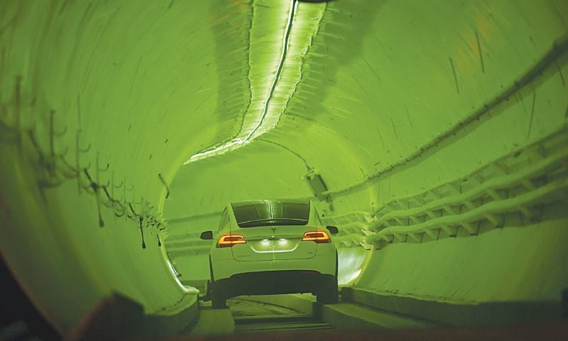 Musk bores tunnel to revolutionise city driving