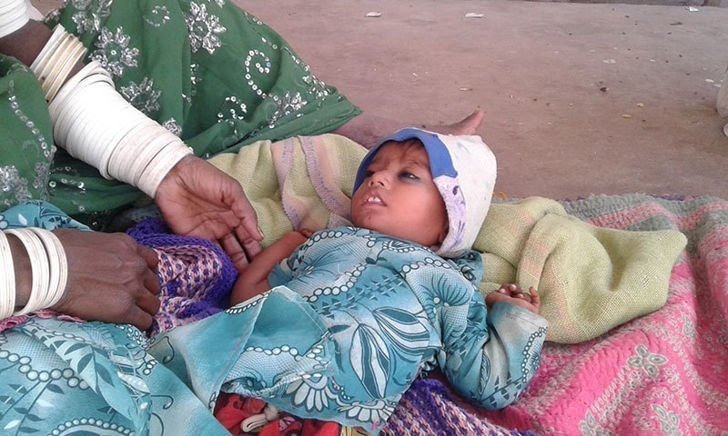 Number of deaths in Thar is the highest in a year over the past five years. — File photo