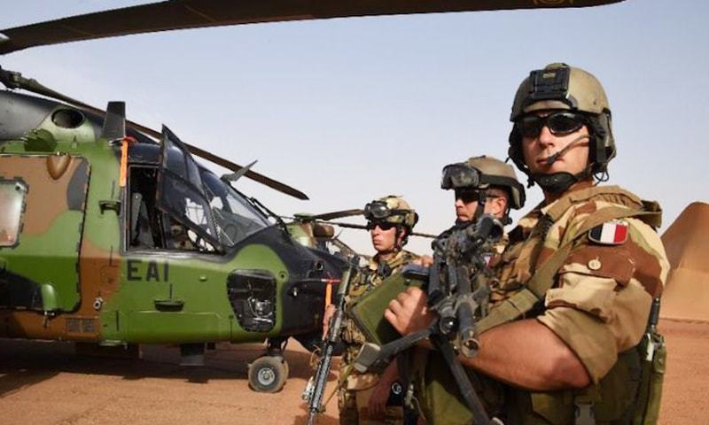 French soldiers are seen in this file photo.— AFP/File