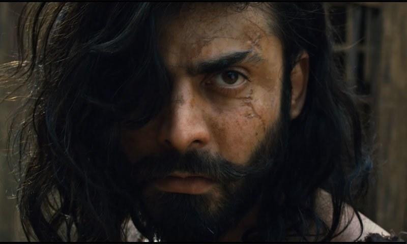 فواد خان مولا جٹ کا کردار ادا کرتے دکھائی دیں گے—اسکرین شاٹ