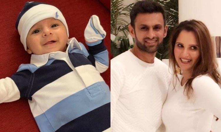 Sania Mirza's son Izhaan 'says' hello to the world