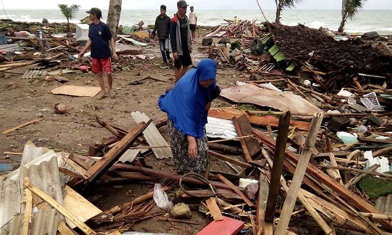 Indonesia tsunami: 43 dead and 'many missing' after Anak Krakatoa erupts - updates