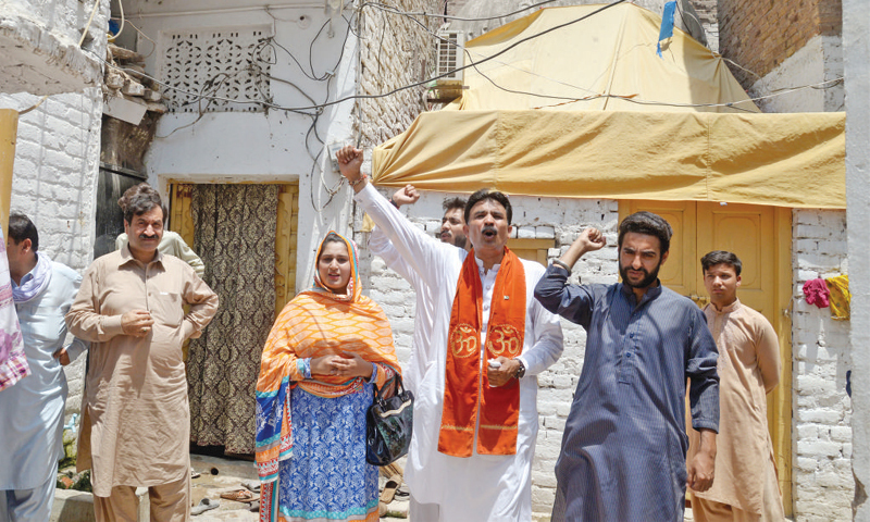 Case pertaining to encroachment of Hindu community's property in Sindh has been wrapped up. — File photo