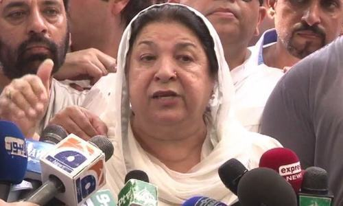 In an earlier hearing, the chief justice had expressed his 'disappointment' with Dr Yasmeen Rashid. — File